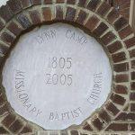 200 Year Memoral Stone