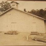 Church Building 1940's With Sunday School