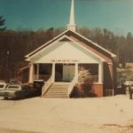 Church Building 1980's when front porch was added