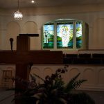 Pulpit and Baptisty